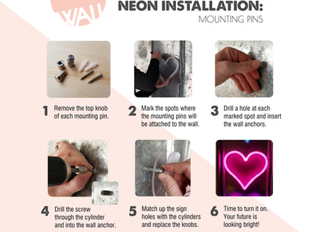 How to: Hang your neon sign!