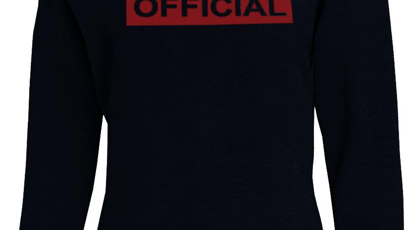 Official Off Shoulder Sweatshirt