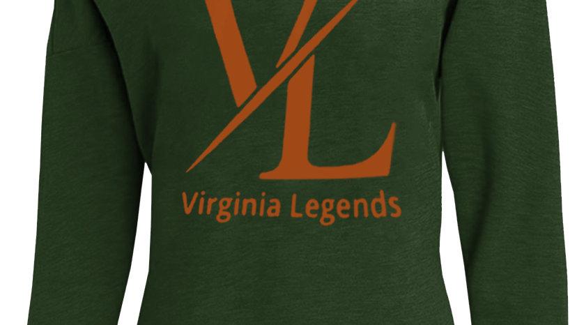Virginia Legends Off Shoulder Sweatshirt