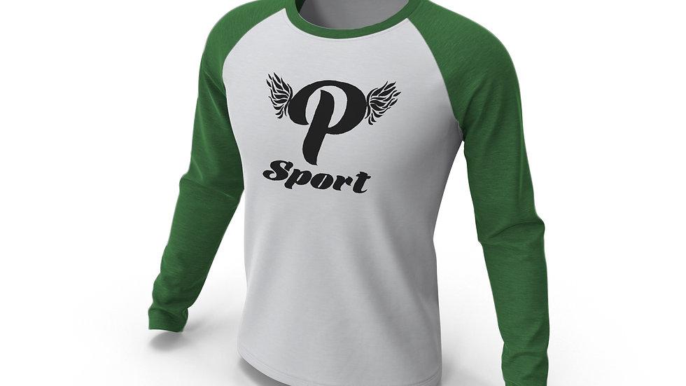 P Sport Baseball Long Sleeve Tee