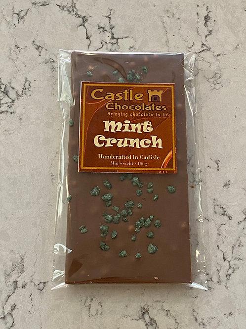 100g Milk Mint Crunch Bar
