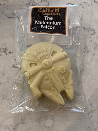 White Chocolate Millennium Falcon