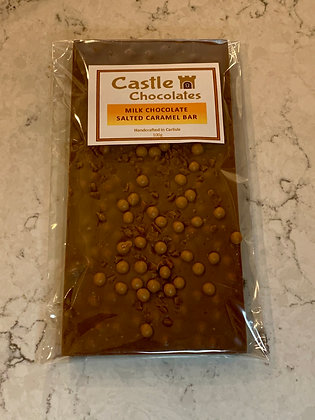 100g Milk Chocolate Salted Caramel Bar