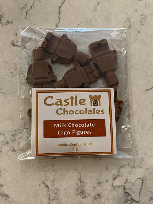 Milk Chocolate Lego Figures