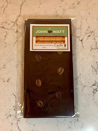 100g Dark Chocolate Coffee Bar