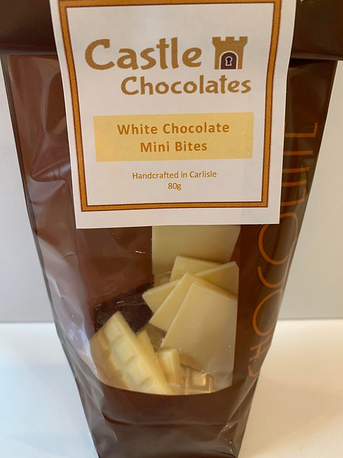 White Chocolate Mini Bites