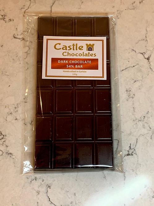 100g Dark Chocolate 54% Bar