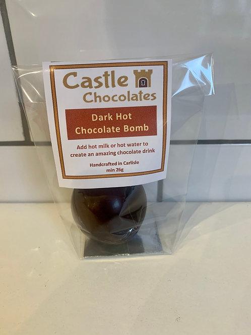 Dark Hot Chocolate Bomb