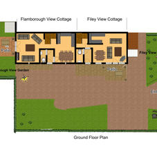 Layout Plan For Both Cottages