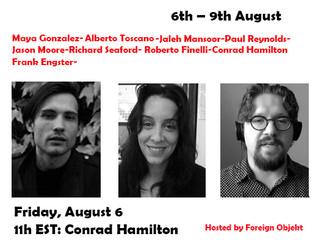 Real Abstraction: The Conference--Day 1  Conrad Hamilton, Jaleh Mansoor, Alberto Toscano
