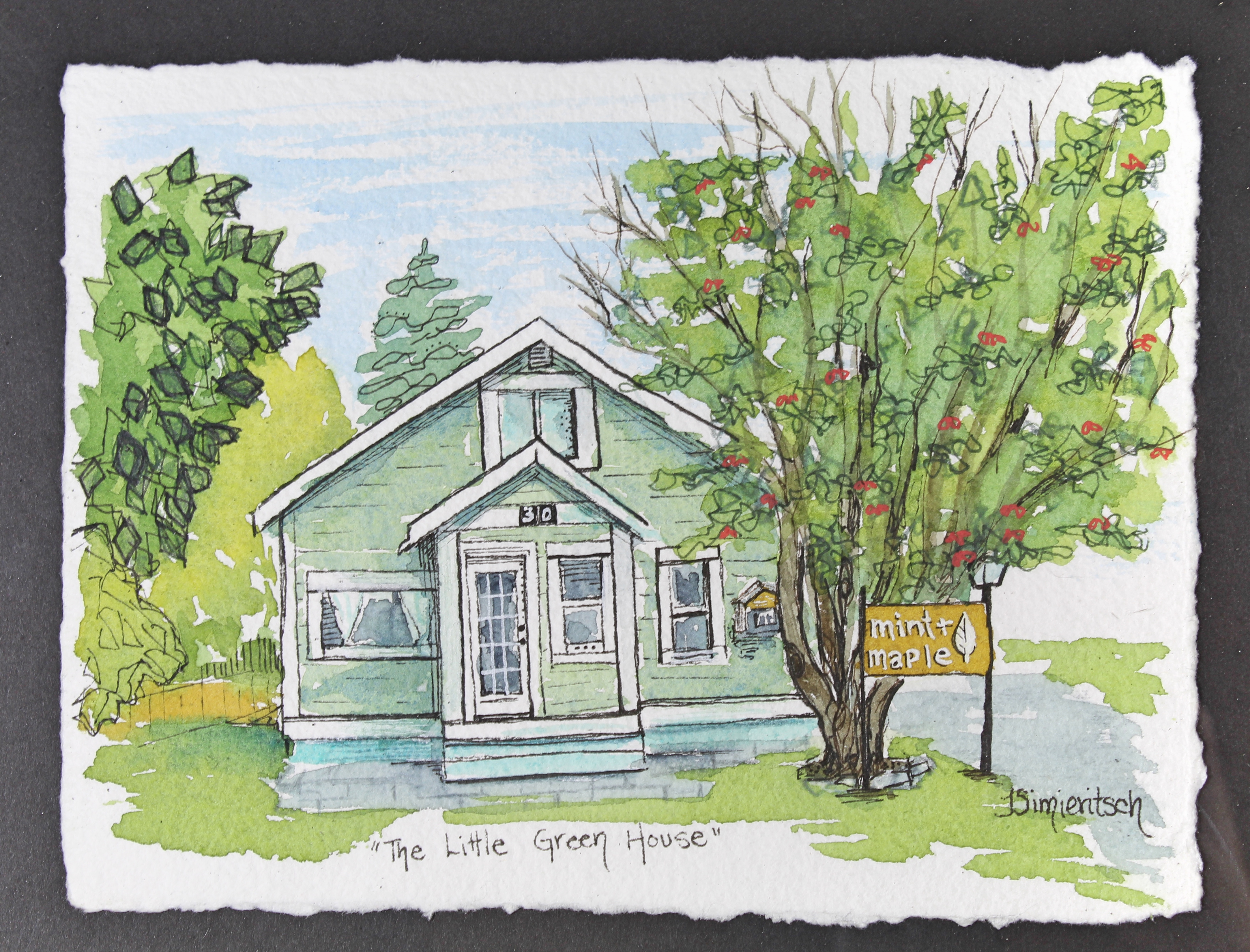 The Little Green House