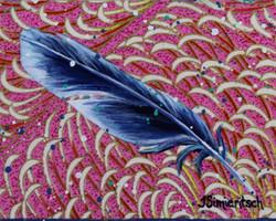 Feather purple