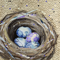 Nest in Blue