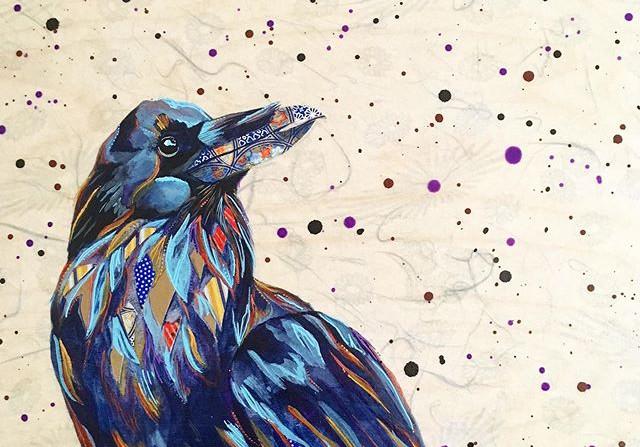 Mystical Raven