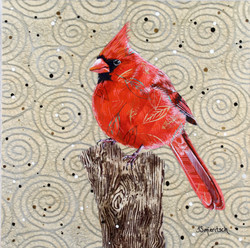 Leafy Cardinal