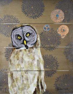 Copper Moon Owl