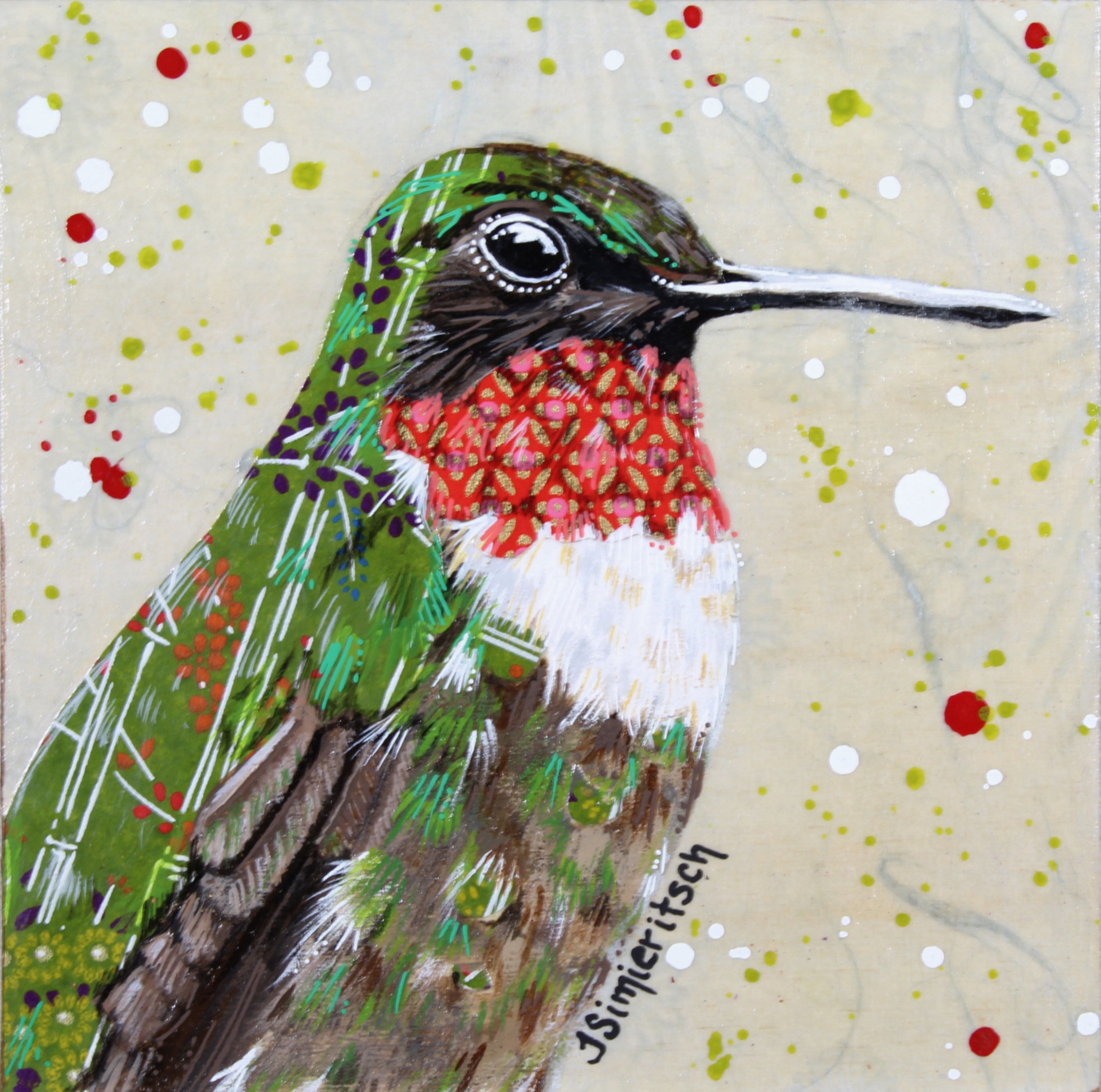 Portrait of a Hummingbird