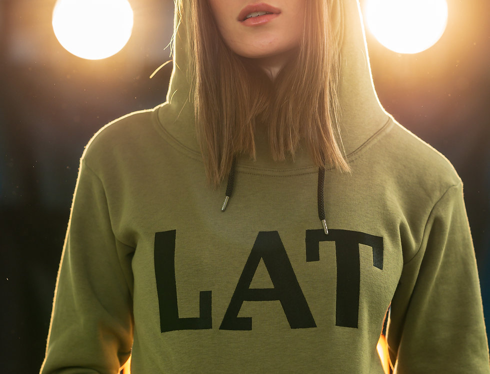 LAT  Classic UNISEX hoodie with high neck