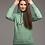 Thumbnail: Latviete - džemperis ar kapuci / krāsa - MILDA