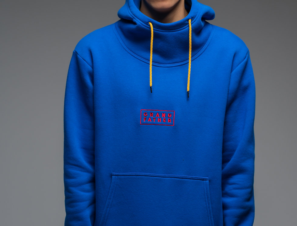 Classic UNISEX hoodie with high neck