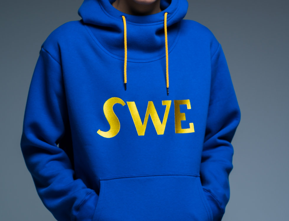 SWE Classic UNISEX hoodie with high neck