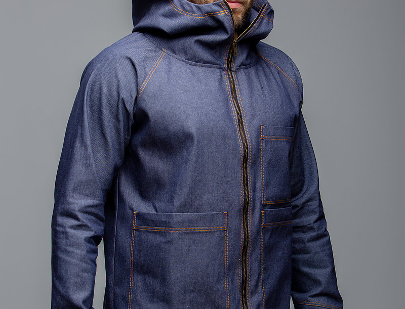 Denim FULL ZIP UNISEX jacket