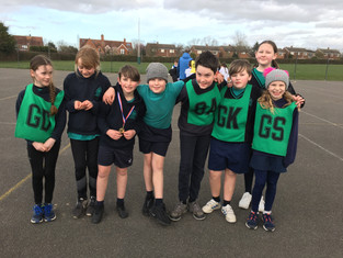 Y5/6 on form at Netball Tournament