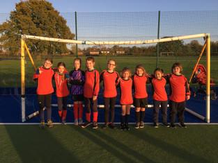 Y3/4 Girls Football Woodcote Partnership Tournament