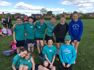 Y5/6 Quad Kids - through to the South Final.