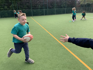 Tag Rugby in the Lower School
