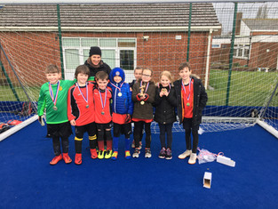 STOP PRESS - Y3/4 footballers are through to the County Final!