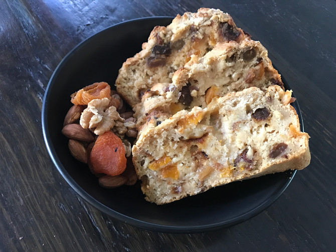 Oatbran Fruit Loaf Recipe