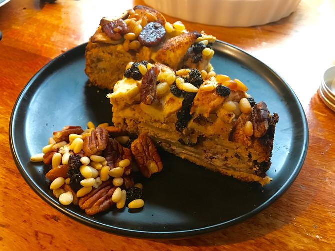 Apple, Pecan, Pine Nut Torte