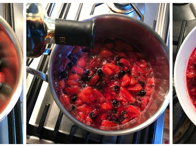 The Deliciousness of Poached Berries