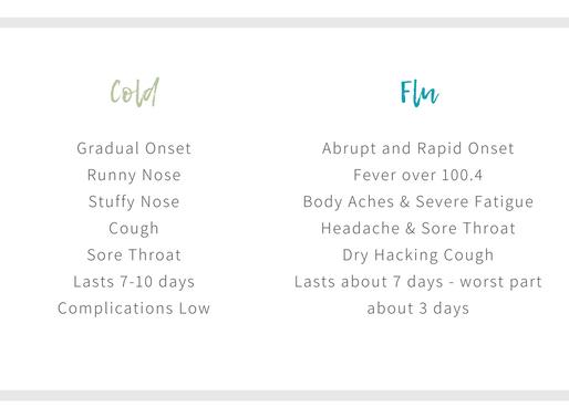 Common Cold vs. The Flu