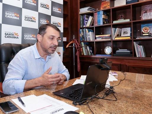 Governador anuncia R$ 44 milhões para reativação de 205 leitos de UTI