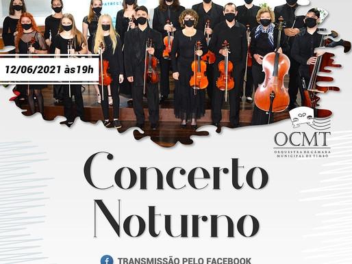 Concerto Noturno com a Câmara Orquestra Municipal de Timbó