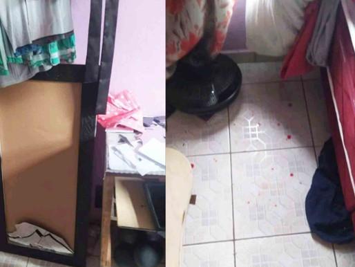 Mulher é agredida por namorado em Timbó