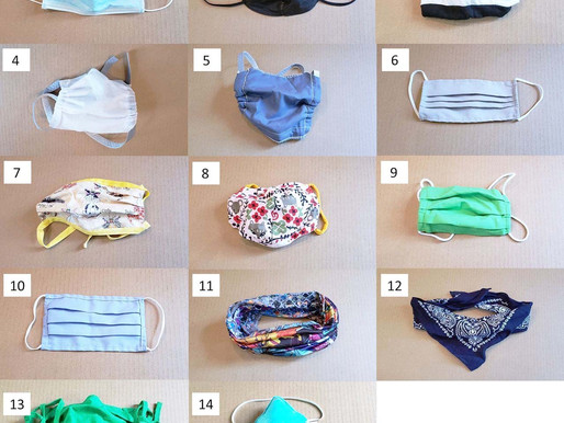As piores e melhores máscaras para proteger contra covid-19