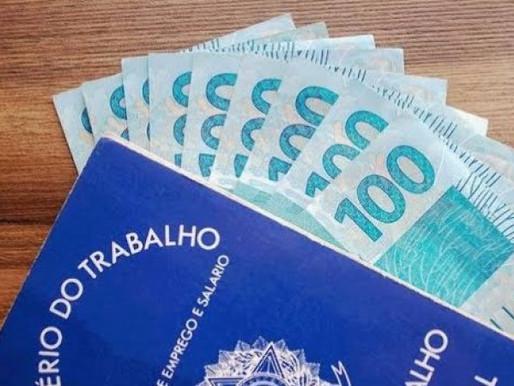 Salário mínimo passou a valer R$ 1,1 mil desde o dia 1º de janeiro