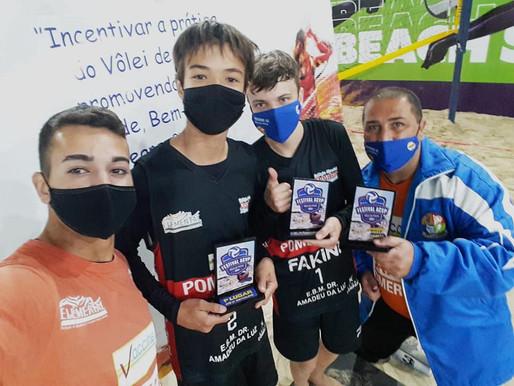 Atletas de Vôlei de Praia da Funpeel participam de competição em Curitiba-PR