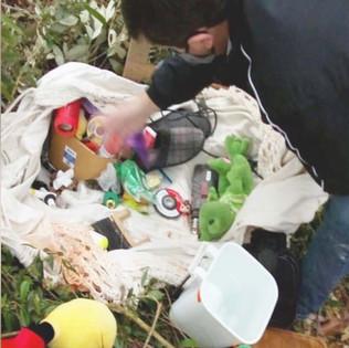 Itens furtados são achados na mata em Rio dos Cedros