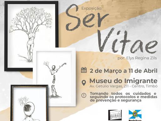 """Museu do Imigrante reabre exposição """"Ser Vitae"""""""