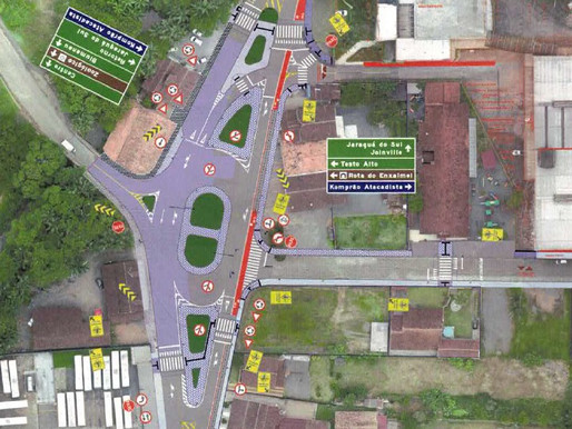 Praça Ervin Zastrow em Testo Rega  passará por reestruturação
