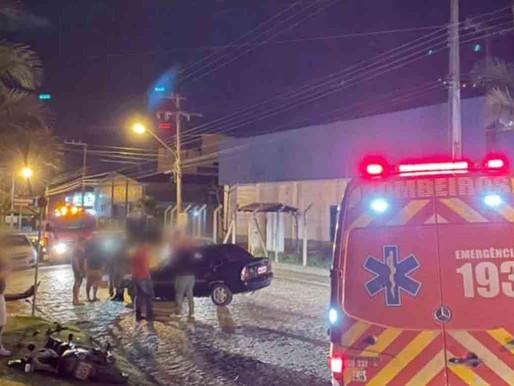Motorista foge do local após causar acidente em Rio dos Cedros