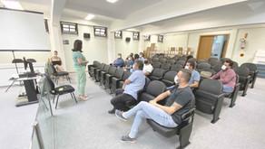 Legislativo participa de reunião com a promotora de Pomerode