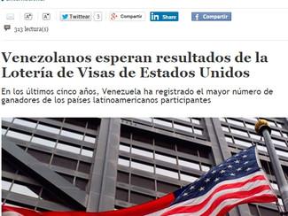 El Mundo - Venezolanos esperan resultados de la Lotería de Visas de Estados Unidos