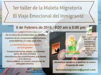 1er Taller de la Maleta Migratoria: El Viaje Emocional del Inmigrante