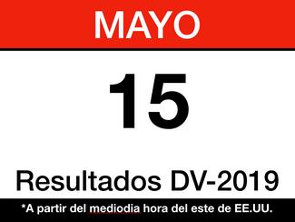 Resultados del DV-2019