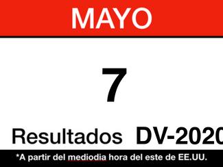 Resultados del DV-2020